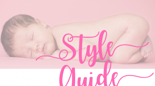 You Before Me Style Guide